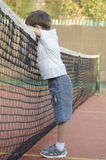 Kid Tennis Player Royalty Free Stock Photos