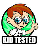 Kid Tested Icon Scientist Royalty Free Stock Image