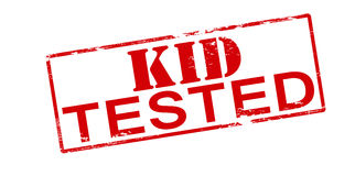 Kid tested Royalty Free Stock Photography