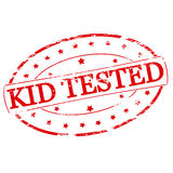 Kid tested Royalty Free Stock Photo