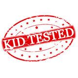 Kid tested Royalty Free Stock Images