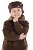 Kid thinking Royalty Free Stock Photos