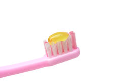 Kid toothbrush Stock Image