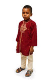 Kid in traditional dress Stock Photos