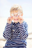Kid on vacation Royalty Free Stock Images