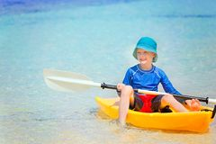 Kid at vacation Stock Photography
