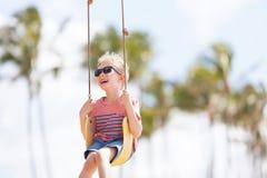 Kid at vacation Stock Image