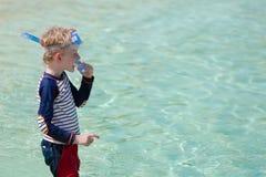 Kid on vacation Stock Photos