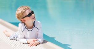 Kid at vacation Stock Photo