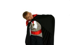Kid vampire Royalty Free Stock Photography