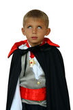 Kid vampire with white eyes Royalty Free Stock Photos