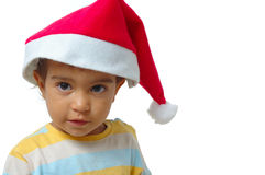 Kid waiting Christmas Stock Photography