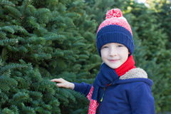 Kid at winter Stock Photography