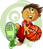 Kid With The Ball Royalty Free Stock Photography