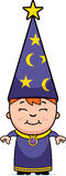 Kid Wizard Stock Images