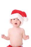 kid2圣诞老人 库存图片