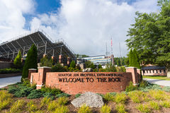 Kidd Brewer Stadium at aSU Royalty Free Stock Photography