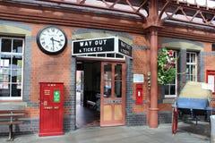 Kidderminster station, Severn Valley Railway Fotografering för Bildbyråer