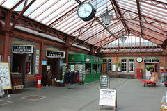 Kidderminster station, Severn Valley Railway Royaltyfri Foto