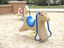 kiddie лошади Стоковое Изображение