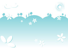Kiddie background for text.  Stock Photography