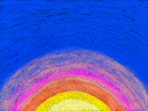 Kiddie demi Sun illustration libre de droits