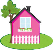 Kiddie House. An illustration of a house Stock Photo