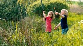 Kiddie que pesca #21 Foto de Stock