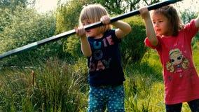 Kiddie que pesca #8 Foto de Stock