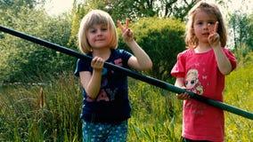 Kiddie que pesca #23 Fotografia de Stock Royalty Free