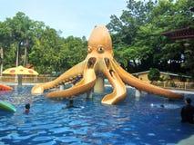 Kiddie Slide. Giant Octopus slide in Bulacan Royalty Free Stock Images