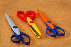Kiddies Scissors Stock Images