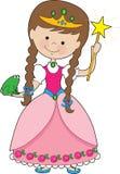 Kiddle Prinzessin Lizenzfreies Stockfoto