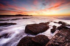 Kidds plaży wschód słońca Obraz Stock