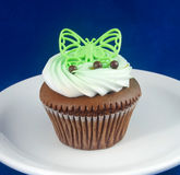 Kiddy Cupcake. Fun cupcake with cream meant for little kids Stock Image