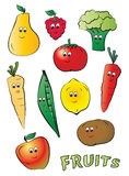 Kiddy fruits Royalty Free Stock Photo