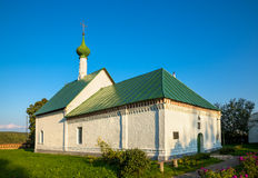 Kideksha. Russia. Church of St. Archdeacon Stefan. Built in 1780 Royalty Free Stock Photo