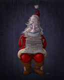 Kidnapped Santa Claus Stock Photography