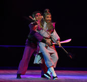 "Kidnapping old man-Children's Beijing Opera""Yue teenager"" Stock Photo"