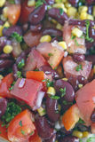 Kidney Bean and Corn Salad Stock Images