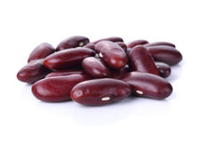 Kidney bean isolated on the white background Stock Photography