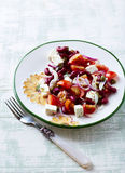Kidney Bean Salad with Goat Cheese Stock Photography