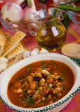 Kidney bean soup Stock Photos