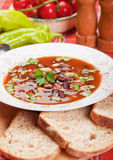 Kidney bean soup Stock Image