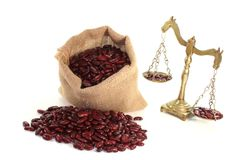 Kidney beans Royalty Free Stock Photos