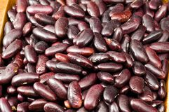 Free Kidney Beans In Wooden Dish Royalty Free Stock Photos - 8418878