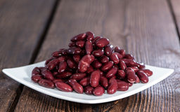Kidney Beans on plate Royalty Free Stock Photography