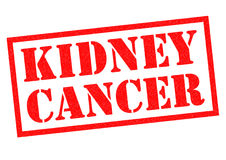 KIDNEY CANCER Rubber Stamp Royalty Free Stock Photo
