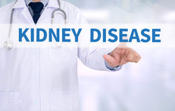 KIDNEY DISEASE Royalty Free Stock Image