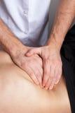 Kidney massage Stock Photography
